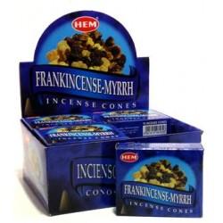 HEM Frankincense Myrrh cone