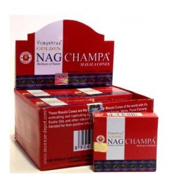 Golden Nag Champa Cone
