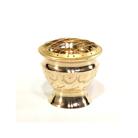 "5"" Brass Charcoal Burner(set of 2)"