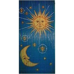 Bamboo Curtain(Sun & Moon)