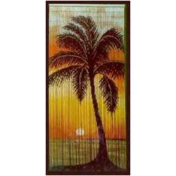 Bamboo Curtain(Sunset)