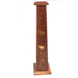 Incense Tower Holder (Mango wood)