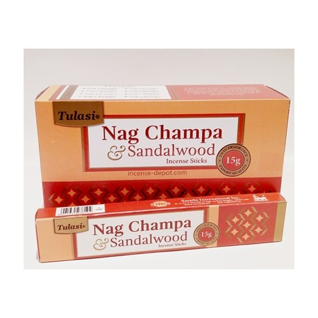 Tulasi Nag Champa Rose 15g