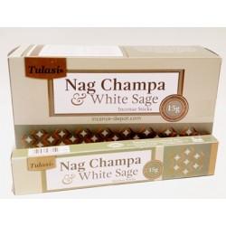Tulasi Nag Champa White Sage 15g