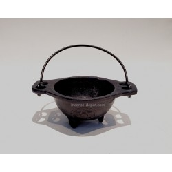 "3.5"" Cast Iron Cauldron"