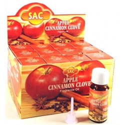 SAC117O Apple Cinnamon Clove aroma oil