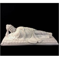 CB19W White Thai Buddha