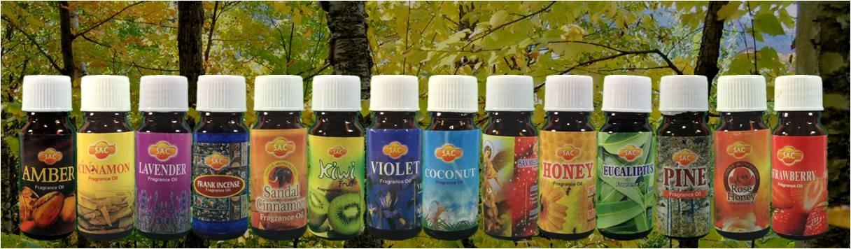 SAC aroma oil