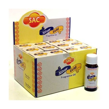 SAC092O silver gold aroma oil