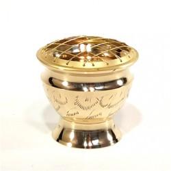 """5"""" Brass Charcoal Burner(set of 2)"""
