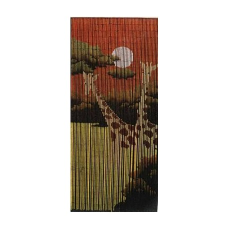 Bamboo Curtain(Giraff)