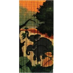 Bamboo Curtain(Elephant)
