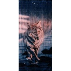 Bamboo Curtain(Wolf)
