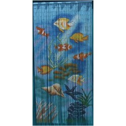 Bamboo Curtain(Tropical Fish)