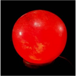 Globe Salt Lamp(Pink)