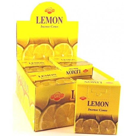 SAC Lemon cones