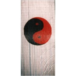 Bamboo Curtain(Yin Yang White base)