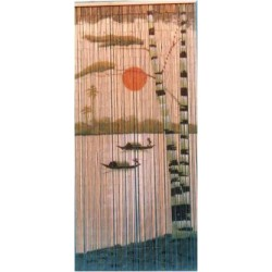Bamboo Curtain(2 Boats)