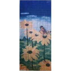 Bamboo Curtain(Butterfly & Flower)