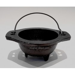 "6"" Cast Iron Cauldron"