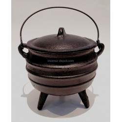 "6.25"" Cast Iron Cauldron"