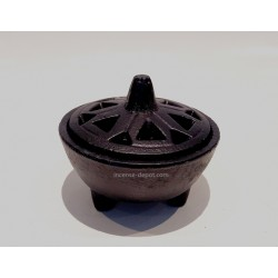"4.25"" Cast Iron Cauldron"