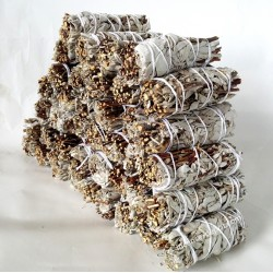 "4"" White Sage & Crown White Sage(40 pk)"
