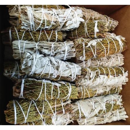 """4"""" White Sage & Cedar(40 pk)"""