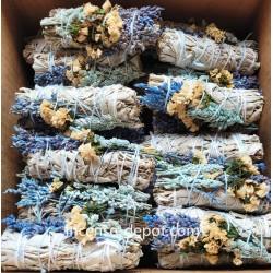 "Blue sage / Sinuata 4"" (40 pk)"