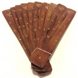 Flate Incense Holder (Om)