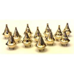 "2.5"" Brass cone burner"